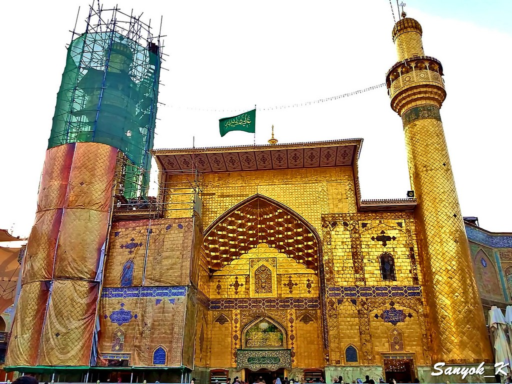 301 Najaf Shrine of Imam Ali Наджаф Мечеть Мавзолей Имама Али