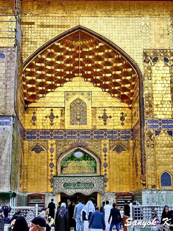 302 Najaf Shrine of Imam Ali Наджаф Мечеть Мавзолей Имама Али