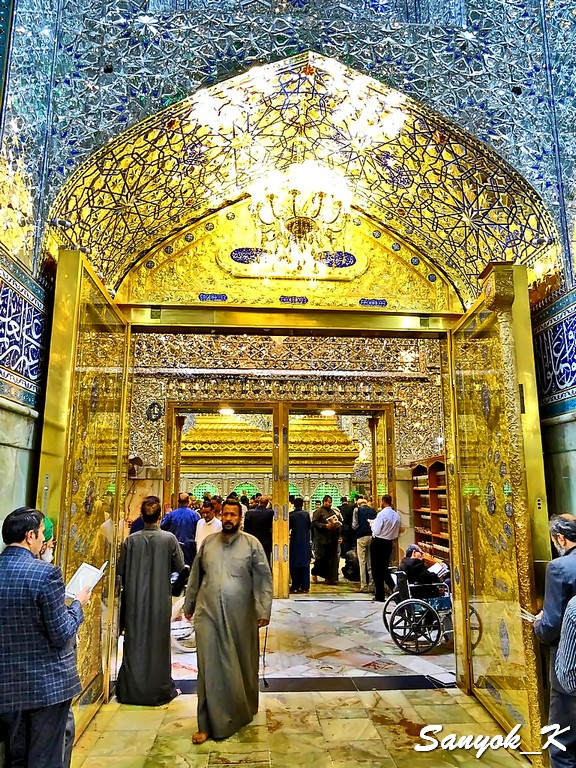 304 Najaf Shrine of Imam Ali Наджаф Мечеть Мавзолей Имама Али