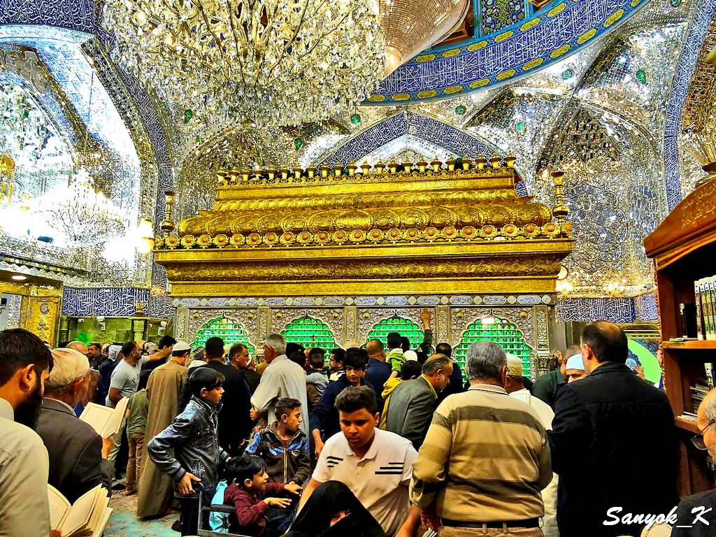 305 Najaf Shrine of Imam Ali Наджаф Мечеть Мавзолей Имама Али