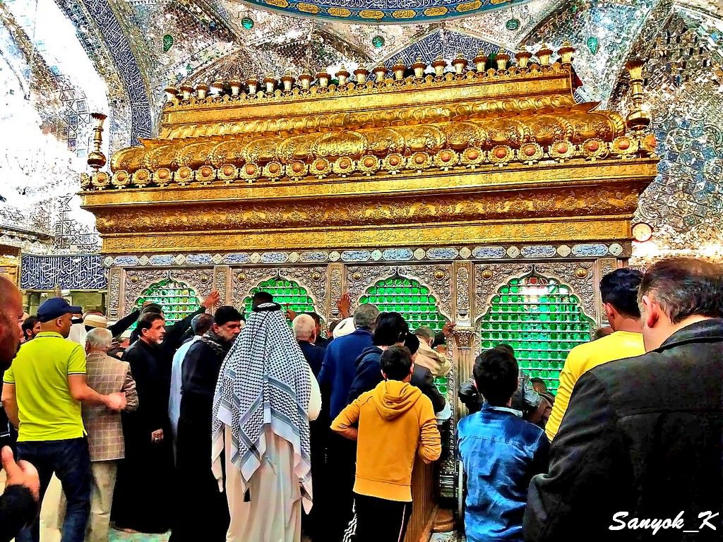306 Najaf Shrine of Imam Ali Наджаф Мечеть Мавзолей Имама Али