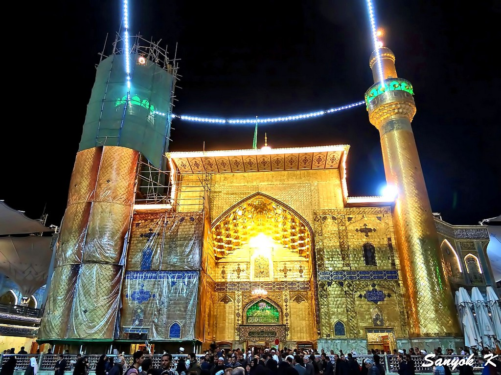 316 Najaf Shrine of Imam Ali Наджаф Мечеть Мавзолей Имама Али