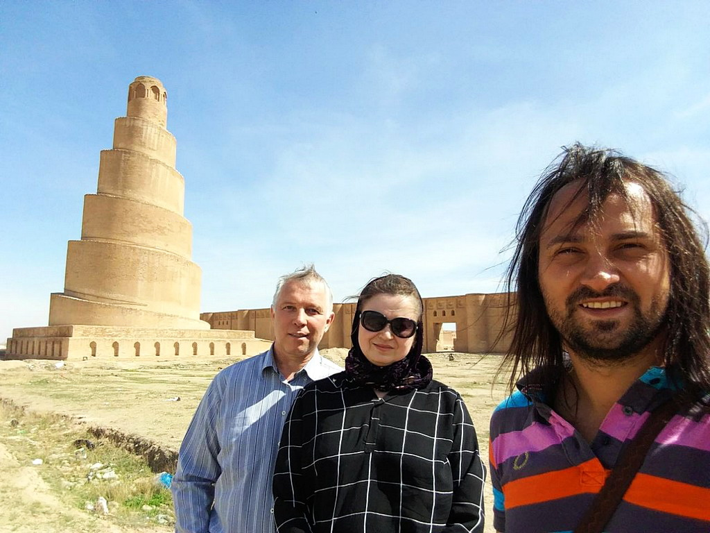 002 Тур в Ирак Samarra Great Mosque and Malwiya minaret