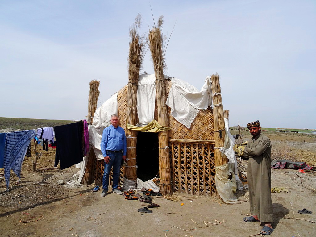 016 Тур в Ирак Chabaish Mudhif Traditional reed house