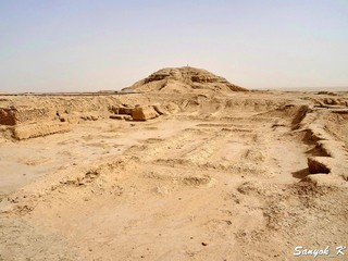 1 Samawah Warka Uruk Excavations near Ziggurat Cамава Варка Урук Раскопки